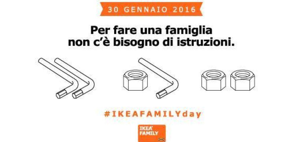 La campaña publicitaria de Ikea en Italia a favor de la diversidad en las familias
