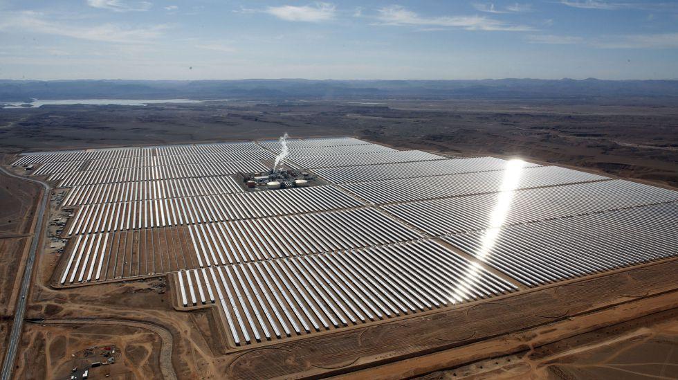 Central térmica solar en Marruecos