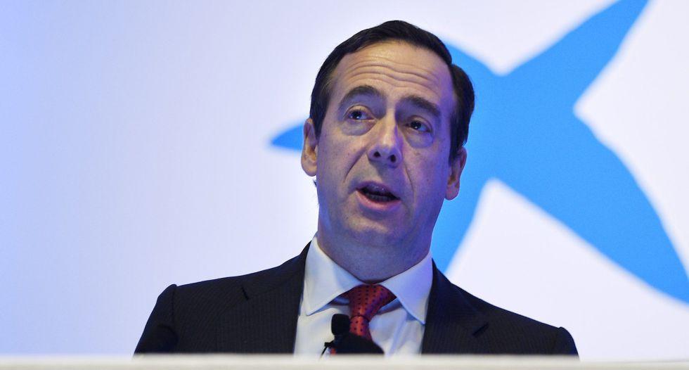 El consejero delegado de Caixabank, Gonzalo Gortazar.