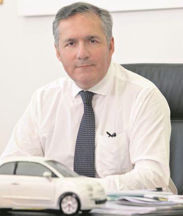 Alfredo Altavilla, director de operaciones de Fiat Chrysler para Europa, África y Oriente Próximo.
