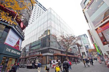 Imagen del edificio M-Plaza en Seúl.