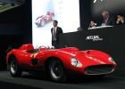 Ferrari 335 S Spider Scaglietti subastado este sábado en París.