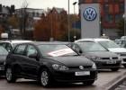 Coches de Volkswagen aparcados en las afueras de un concesionario en Londres. REUTERSSuzanne Plunkett