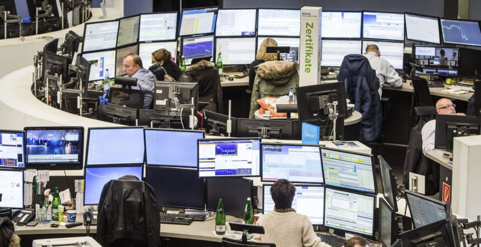 European stock markets were dealt heavy blows on Monday.