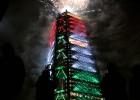 La nueva Torre BBVA Bancomer en la Ciudad de México.