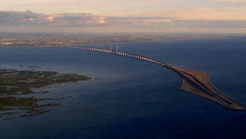 Así es el puente escandinavo que asombra en las redes