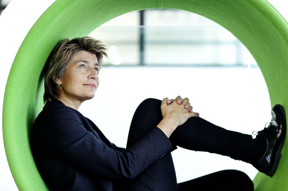 Rosan Bosch en uno de sus diseños para una escuela danesa.