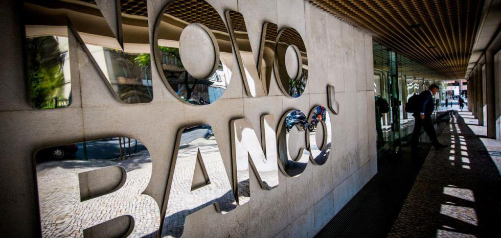 Sede del Novo Banco portugués en Lisboa