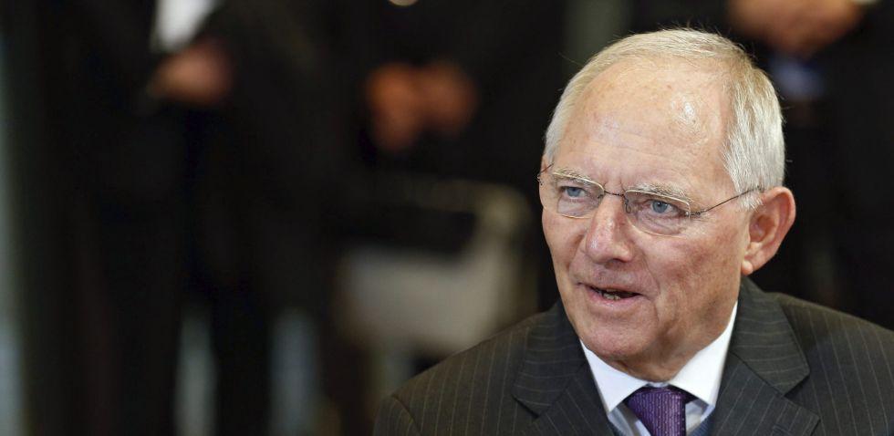 El ministro alemán de Finanzas, Wolfgang Schäuble.
