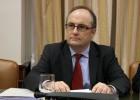 El subgobernador del Banco de España, Fernando Restoy, en la Comisión de Economía y Competitividad del Congreso.ULY MARTIN