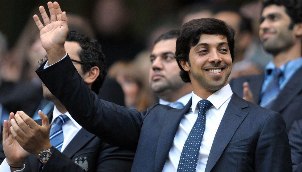 El jeque propietario del Manchester City, Sheikh Mansour bin Zayed Al Nahyan.