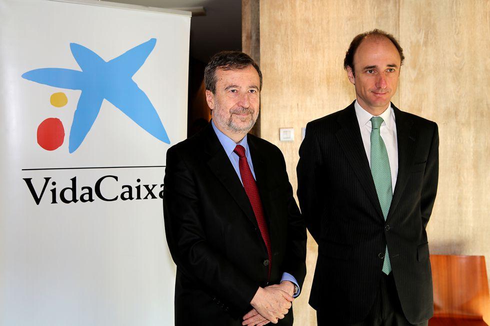 Tomás Muniesa, vicepresidente ejecutivo y consejero delegado (izquierda) y Antonio Trueba, director general.