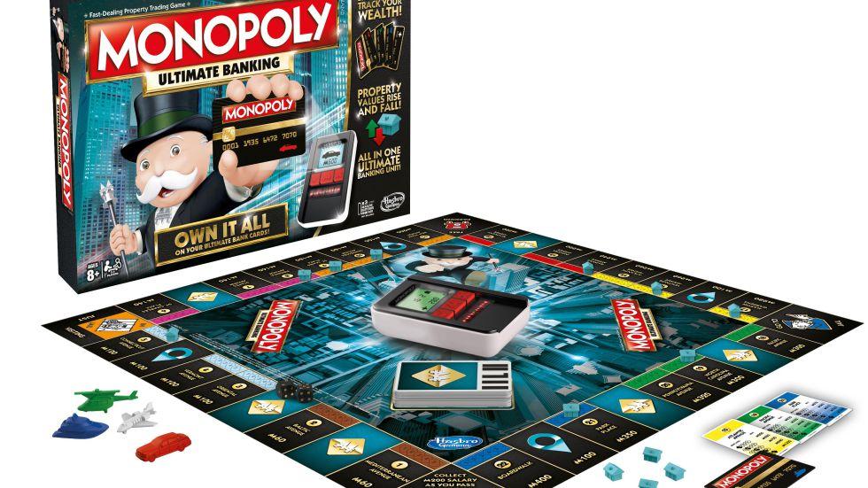 Reproducción del Monopoly Ultimate Banking