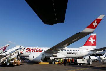 El modelo CS 100 de Bombardier para Swiss