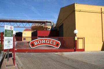 Vista de la fábrica de frutos secos de Borges en Reus, Tarragona.