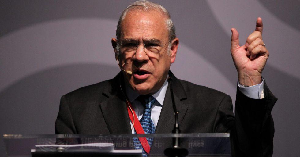 El secretario general de la OCDE, José Angel Gurría.