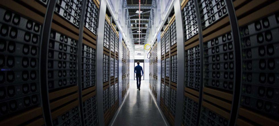 Un centro de datos de Facebook en Lulea (Suecia).