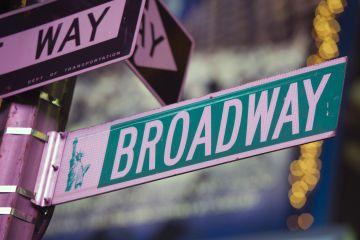 Cruce en la plaza neoyorquina de Times Square