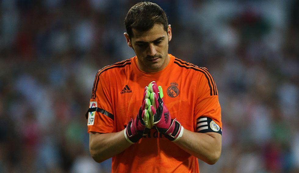 Iker Casillas en tu etapa como portero del Real Madrid