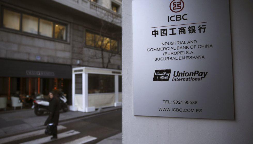 Sede en Madrid del Comercial Bank of China (ICBC), la mayor entidad financiera del gigante asiático