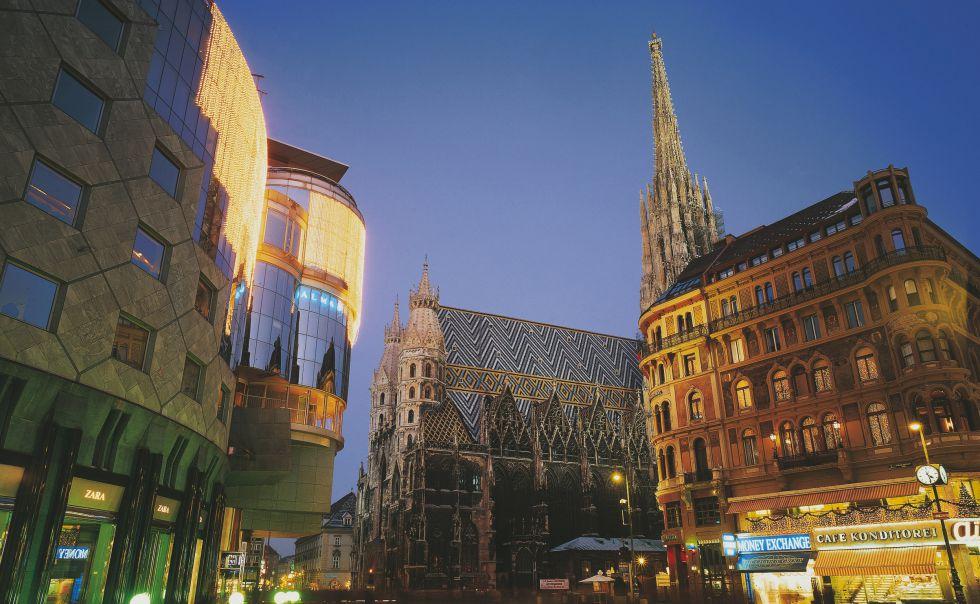 La catedral de San Esteban, en Viena (Austria).