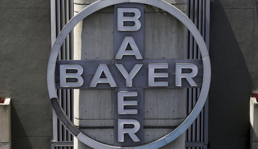 Logo de la compañía Bayer.