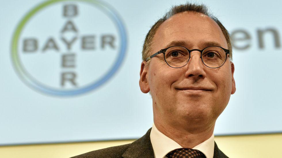 Werner Baumann, futuro primer ejecutivo de Bayer, el 25 de febrero de 2016 en Leverkusen (Alemania).