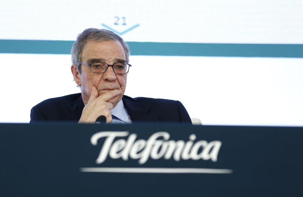 El presidente de Telefonica habla sobre la tarifa plana de Internet