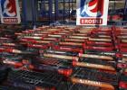 Eroski le vende a Carrefour 36 hipermercados por 205 millones