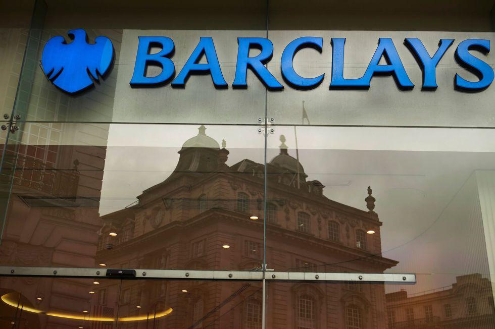 Una sucursal de Barclays en el centro de Londres.