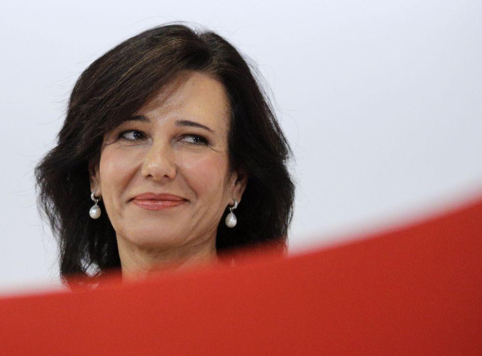 Ana Botín, presidenta del Santander, es una de las tres consejeras ejecutivas del Ibex.
