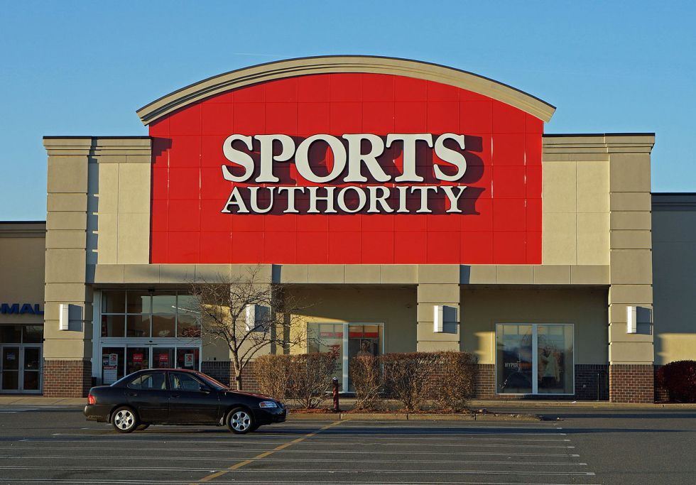 Establecimiento de Sports Authority en Danvers (Massachusetts).