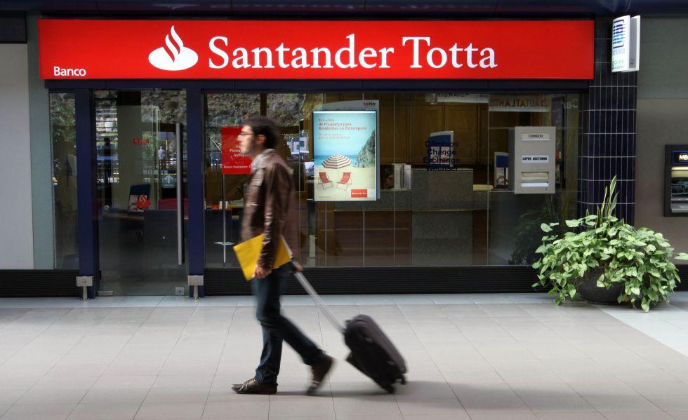 Sucursal del Banco Santander Totta en Portugal