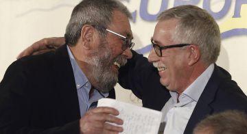 Cándido Méndez e Ignacio Fernández Toxo.
