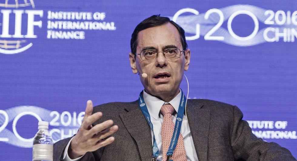 Jaime Caruana, presidente del Banco de Pagos.
