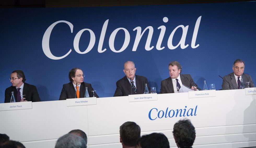 Reunion de la junta de accionista del grupo Colonial