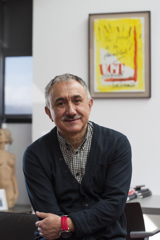 Josep Maria Alvarez, secretario general de la UGT y candidato a suceder a Candido Mendez