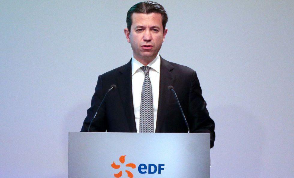 El exdirector financiero de EDF Thomas Piquemal en París el 16 de febrero de 2016.