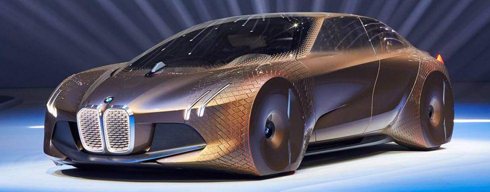 El prototipo de la Vision next 100 de BMW.