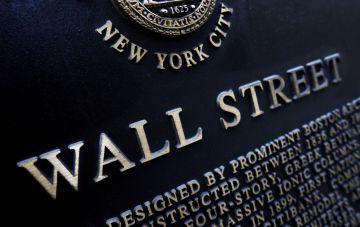 Placa histórica sobre la fundación de Wall Street