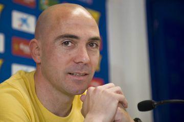 De la Peña, el día que anunció su retirada del fútbol en 2011.