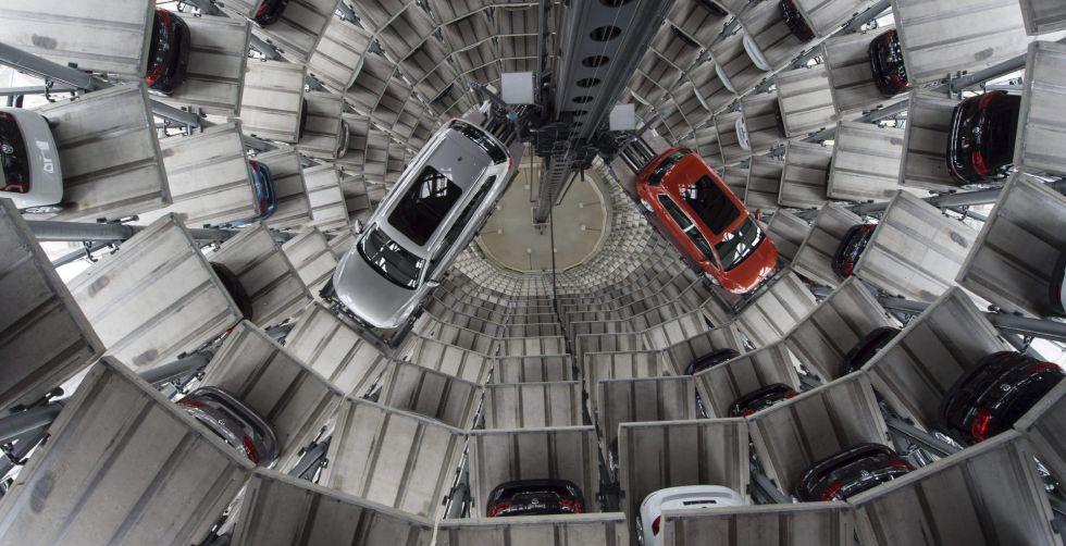 Almacén de altura de Volkswagen.