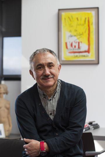 Josep Maria Alvarez, secretario general de UGT en Cataluña y candidato a suceder a Candido Mendez