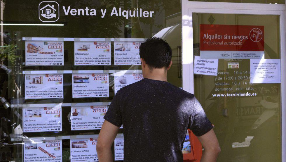 Inmobiliaria en Madrid, con anuncios de pisos en venta.