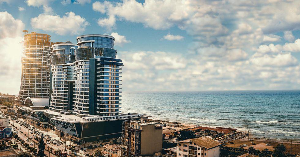 Proyecto de construcción de un complejo hotelero de la cadena Meliá en la localidad costera de Salman Shahr (Irán).
