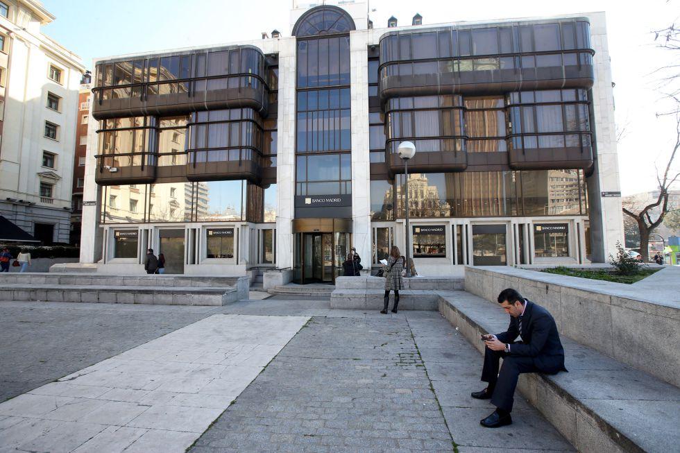 Sede del Banco de Madrid, en la plaza de Colón de Madrid