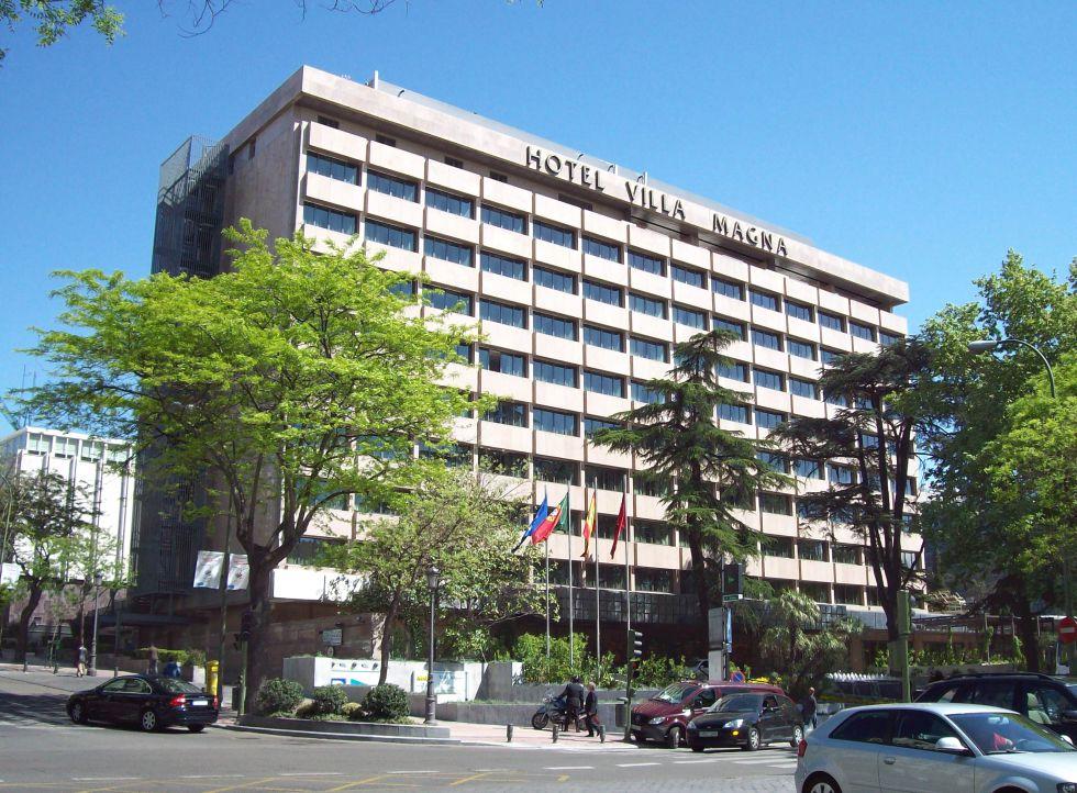 Hotel Villamagna, recientemente comprado por el grupo turco Dogus Holding.