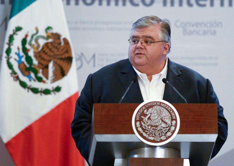 El gobernador del Banco de México, Agustín Carstens.