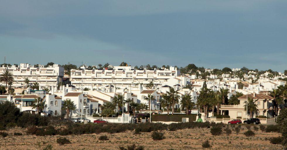 Vistas de Orihuela Costa, en la zona de Cabo-Roig (Alicante).