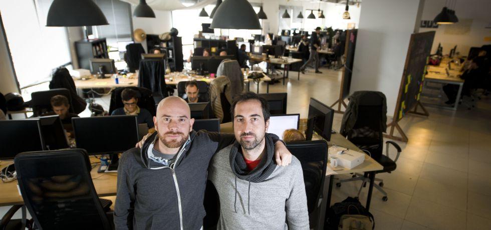David Okuniev y Robert Muñoz, fundadores de Typeform.